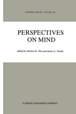 Perspectives on Mind - Synthese Library 194 (Paperback)