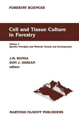 Cell and Tissue Culture in Forestry: Volume 2 Specific Principles and Methods: Growth and Developments - Forestry Sciences 24-26 (Paperback)