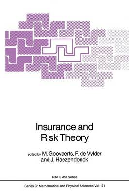Insurance and Risk Theory - NATO Science Series C 171 (Paperback)
