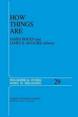 How Things Are: Studies in Predication and the History of Philosophy and Science - Philosophical Studies Series 29 (Paperback)