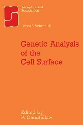 Genetic Analysis of the Cell Surface - Series B 16 (Paperback)