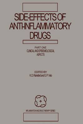 Side-Effects of Anti-Inflammatory Drugs: Part One Clinical and Epidemiological Aspects - Inflammation and Drug Therapy Series 1 (Paperback)
