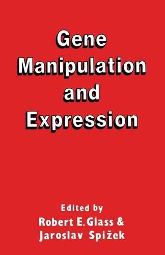 Gene Manipulation and Expression (Paperback)