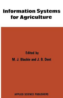 Information Systems for Agriculture (Paperback)