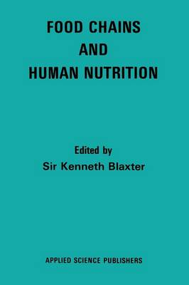 Food Chains and Human Nutrition (Paperback)