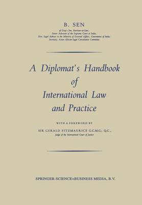 A Diplomat's Handbook of International Law and Practice (Paperback)