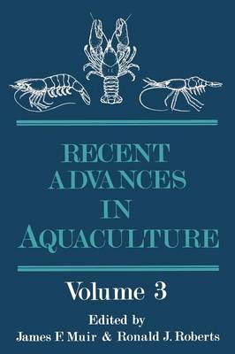 Recent Advances in Aquaculture: Volume 3 (Paperback)