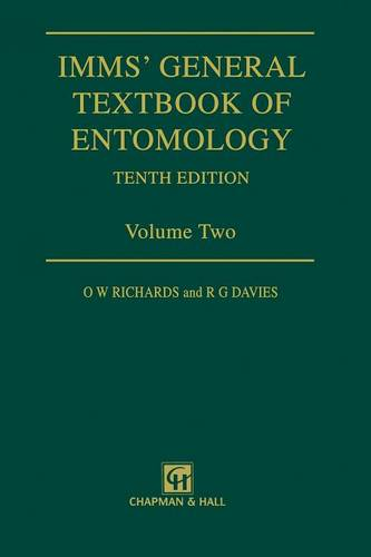 Imms' General Textbook of Entomology: Volume 2: Classification and Biology (Paperback)