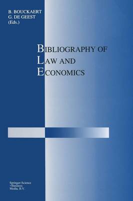 Bibliography of Law and Economics (Paperback)
