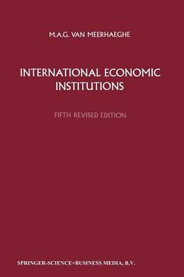 International Economic Institutions (Paperback)