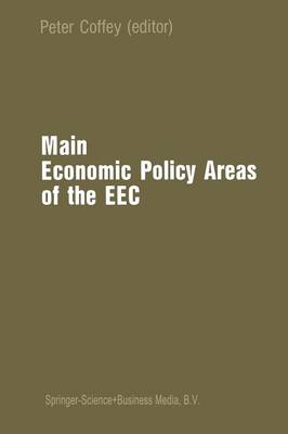 Main Economic Policy Areas of the EEC (Paperback)