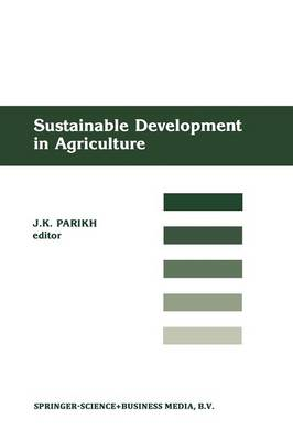 Sustainable Development of Agriculture (Paperback)