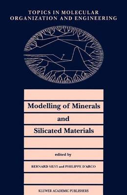 Modelling of Minerals and Silicated Materials - Topics in Molecular Organization and Engineering 15 (Paperback)