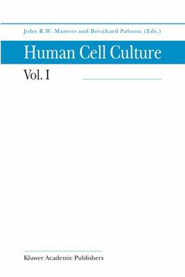 Cancer Cell Lines Part 1 - Human Cell Culture 1 (Paperback)