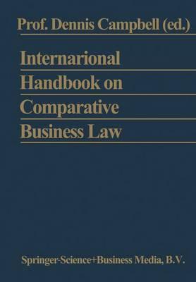 International Handbook on Comparative Business Law (Paperback)