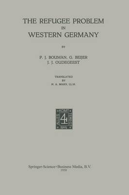 The Refugee Problem in Western Germany (Paperback)