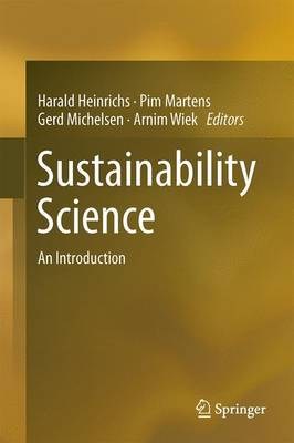 Sustainability Science: An Introduction (Hardback)