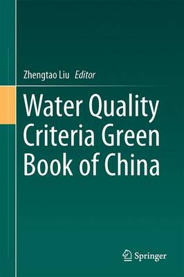 Water Quality Criteria Green Book of China (Hardback)