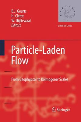 Particle-Laden Flow: From Geophysical to Kolmogorov Scales - ERCOFTAC Series 11 (Paperback)