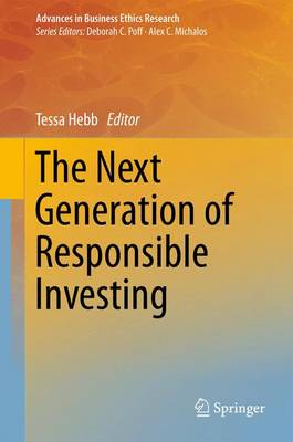 The Next Generation of Responsible Investing - Advances in Business Ethics Research 1 (Paperback)