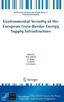 Environmental Security of the European Cross-Border Energy Supply Infrastructure - NATO Science for Peace and Security Series C: Environmental Security (Hardback)