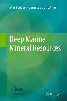 Deep Marine Mineral Resources (Paperback)
