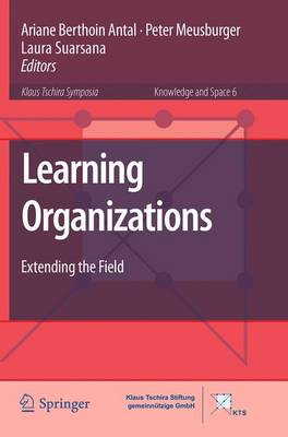Learning Organizations: Extending the Field - Knowledge and Space 6 (Paperback)