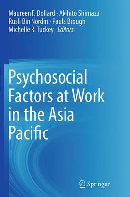 Psychosocial Factors at Work in the Asia Pacific (Paperback)