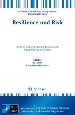 Resilience and Risk: Methods and Application in Environment, Cyber and Social Domains - NATO Science for Peace and Security Series C: Environmental Security (Paperback)