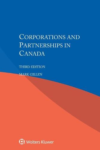 Corporations and Partnerships in Canada (Paperback)