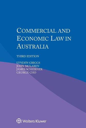 Commercial and Economic Law in Australia (Paperback)