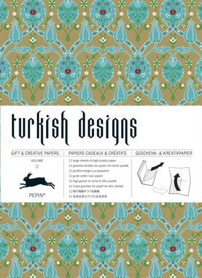 Turkish Designs: Gift & Creative Paper Book Vol. 02 (Paperback)