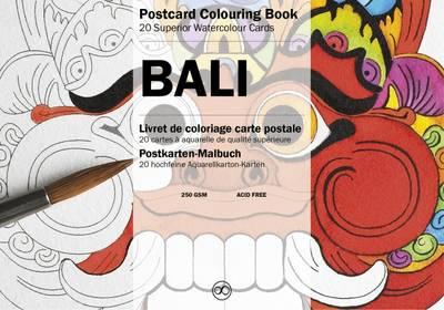 Bali: Postcard Colouring Book