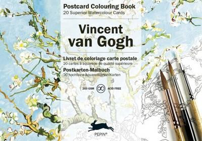 Van Gogh: Postcard Colouring Book (Paperback)