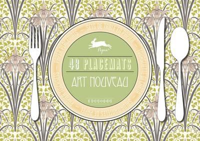 Art Nouveau: Placemat Pad (Paperback)