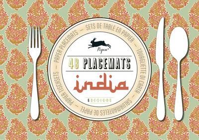 India: Placemat Pad (Paperback)