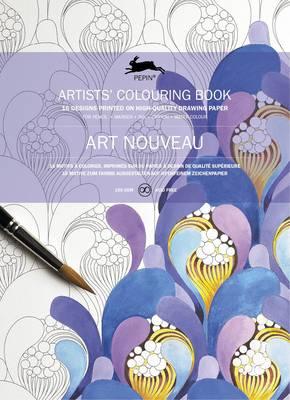 Art Nouveau: Artists' Colouring Book (Paperback)