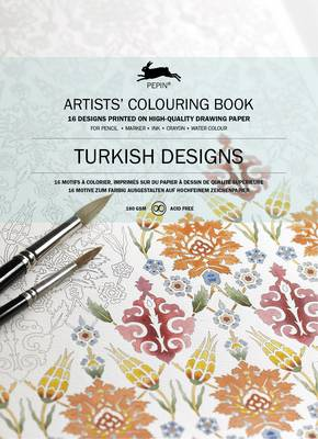 Turkish Designs: Artists' Colouring Book (Paperback)