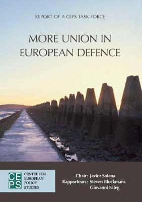 More Union in European Defence (Paperback)