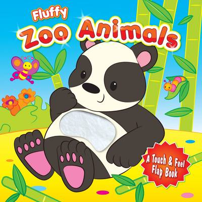 Fluffy Zoo Animals (Board book)