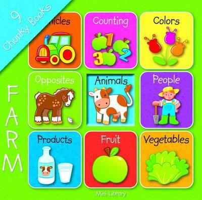 Mini Library: Farm - Mini Library (Board book)