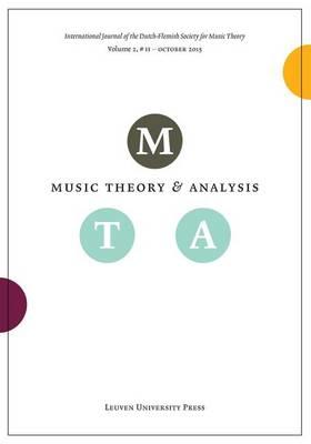 Music Theory and Analysis, Volume 2.2 (Paperback)