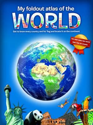 My Fold-Out Atlas of the World (Hardback)