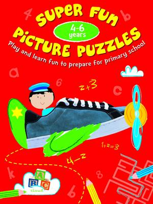 Picture Puzzle Fun 4-6 Years: 4-6 years (Paperback)