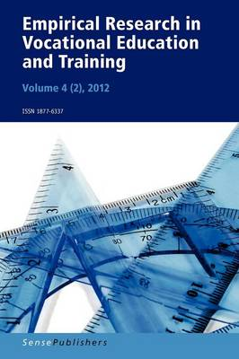 Empirical Research in Vocational Education and Training, Vol. 4/2 (2012) (Paperback)