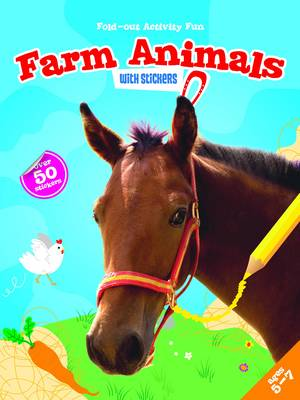 My Fold-Out Activity Fun: Farm Animals (Paperback)