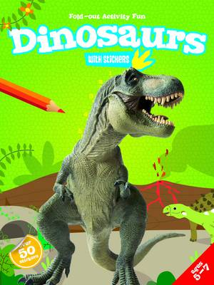 My Fold-Out Activity Fun: Dinosaurs (Paperback)