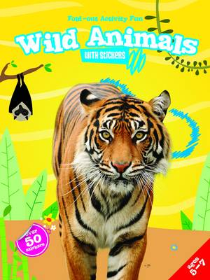 My Fold-Out Activity Fun: Wild Animals (Paperback)