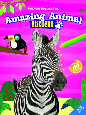My Fold-Out Activity Fun: Amazing Animals (Paperback)