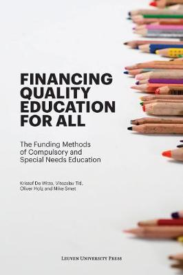 Financing Quality Education for All: The Funding Methods of Compulsory and Special Needs Education (Paperback)